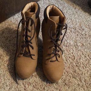 Timberland look alike Heels